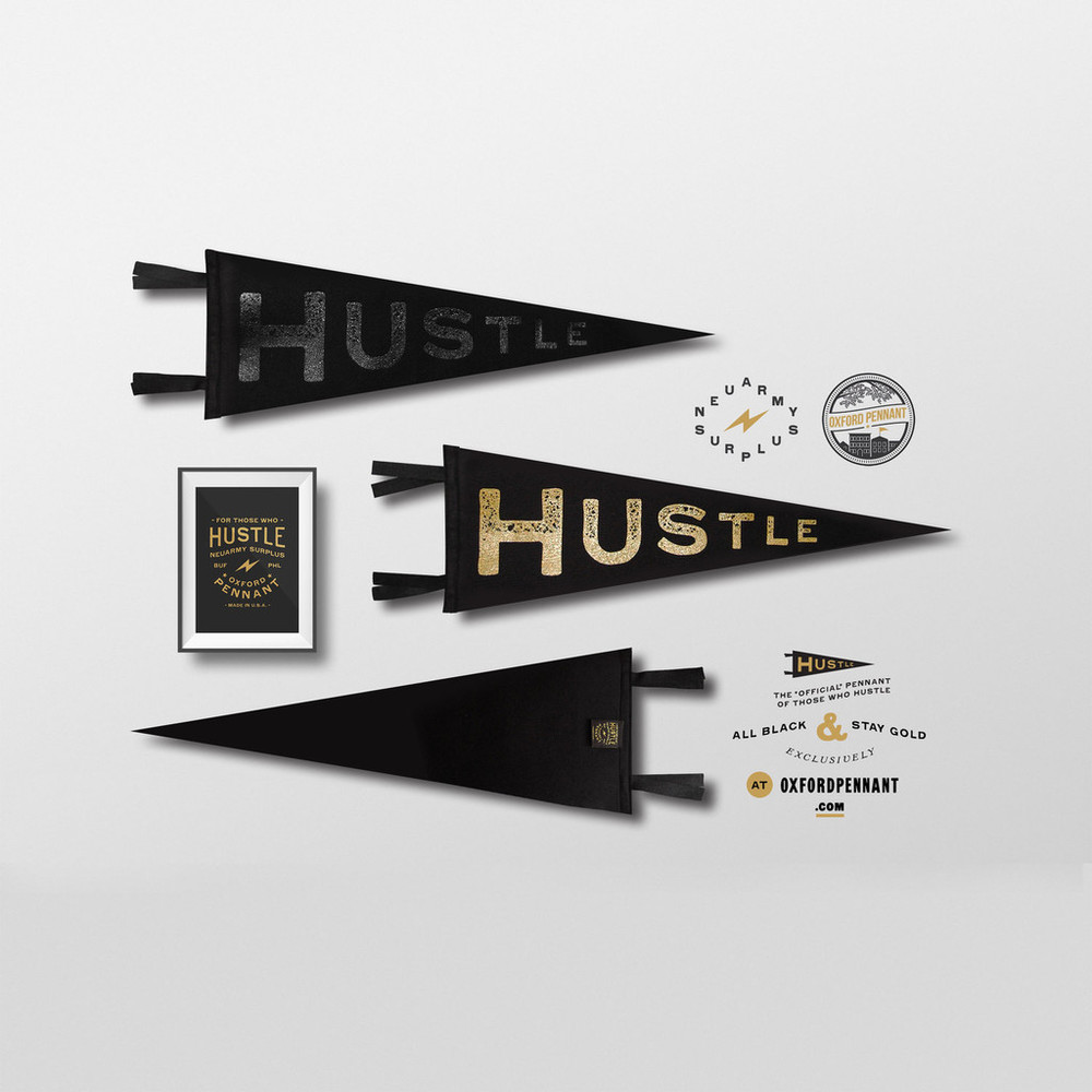 Hustle Pennants - The Midwestival Gift Guide 2014