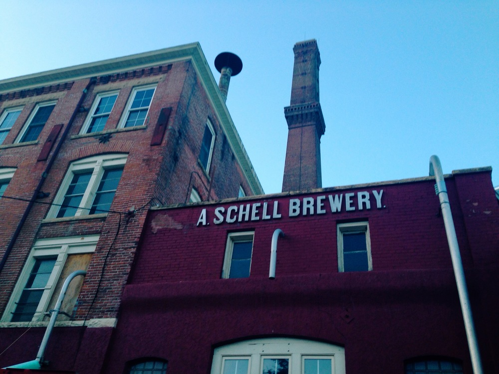 August Schell Brewing Company in New Ulm, Minnesota