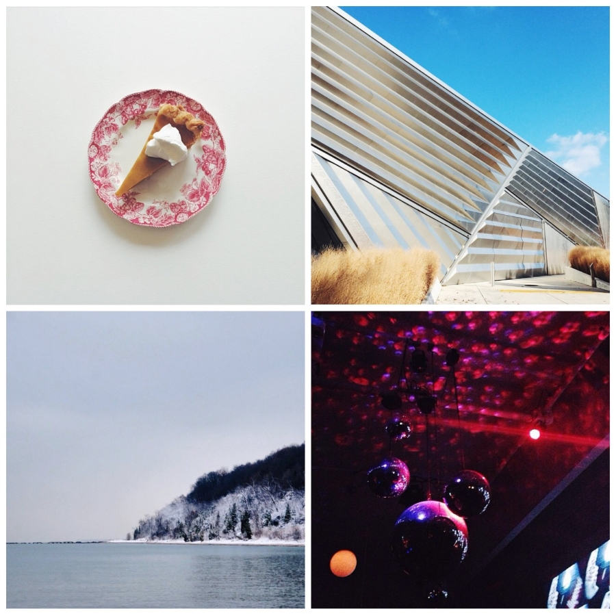 This week's Instacrushes. Clockwise from top left: @ thesnm , @ shelbzrobinson , @ sophielsnyder , @ casslynnphoto