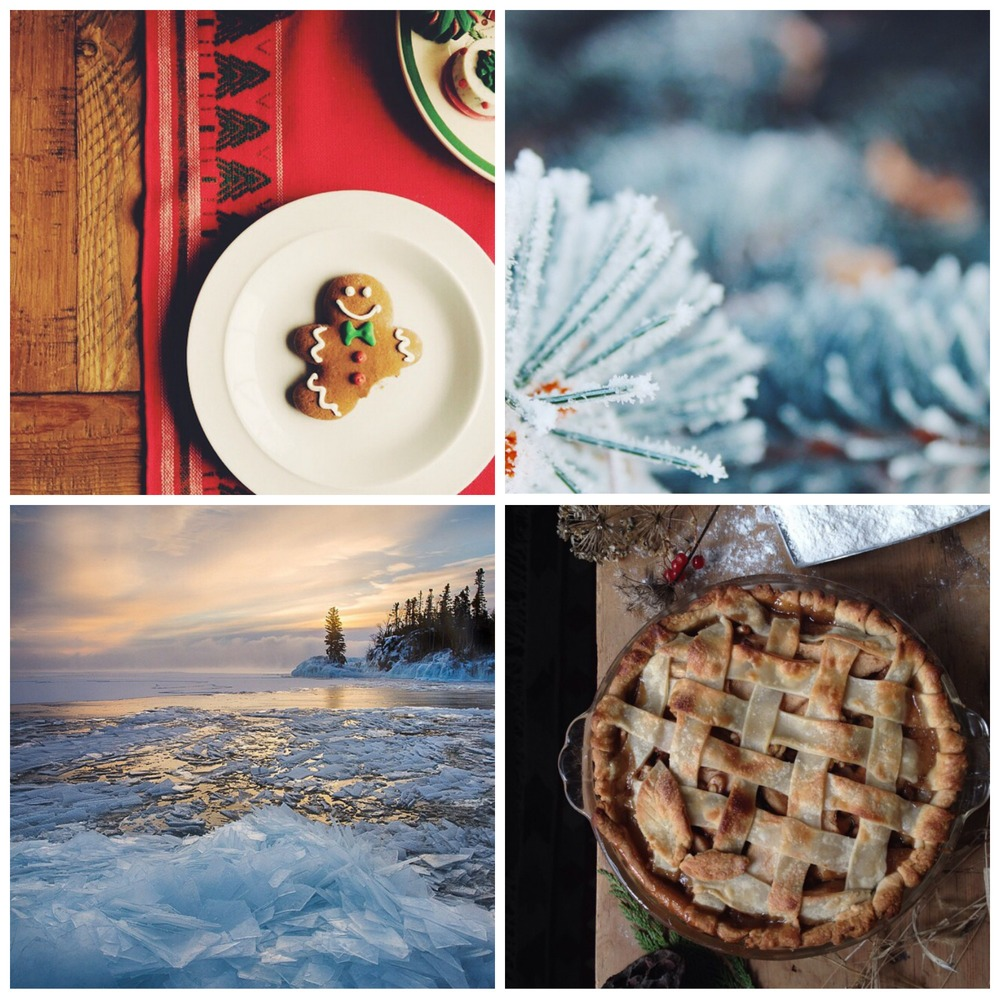 This week's Instacrushes! Clockwise from the top left: @hmnphotographer, @annie.persson, @bonneyboys, @olsonimagery