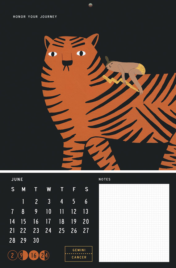 Laura Berger Calendar (13 Midwest Made Calendars for 2015 - The Midwestival)