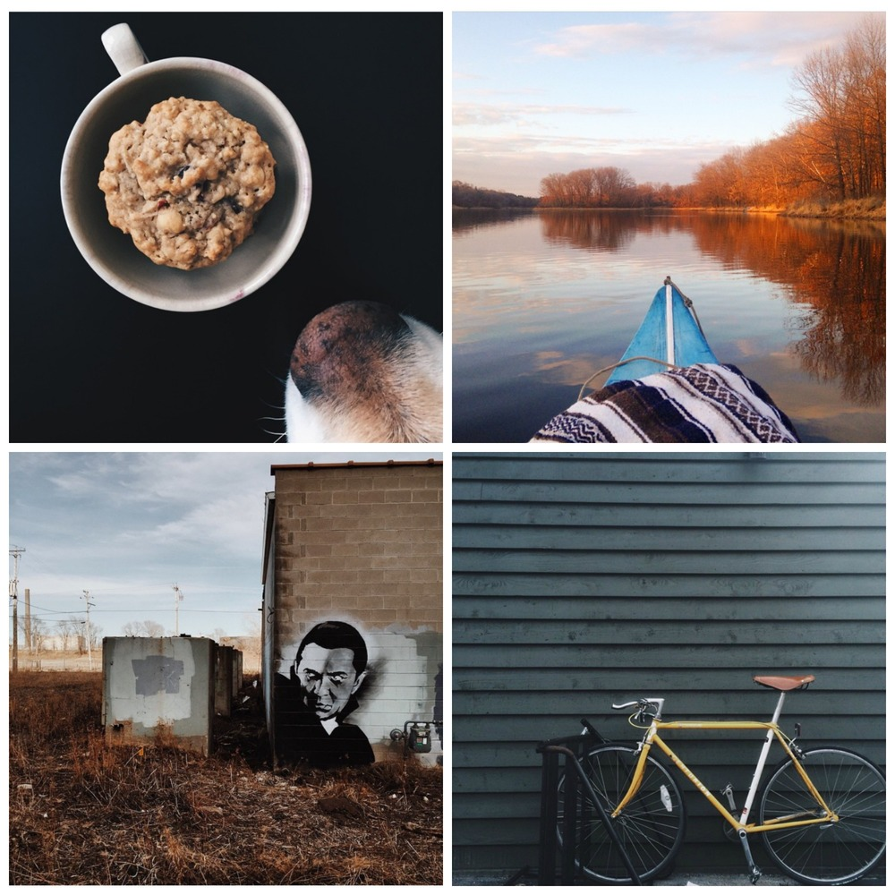 This week's Instacrushes! Clockwise from top left:  @ northwoodjane , @ thegoodwithin , @ a.m.schwartz , @ adamfuerst