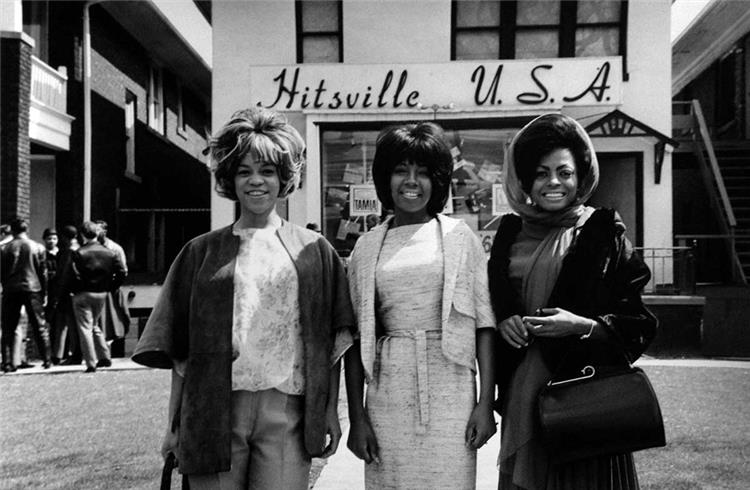 The Supremes at Motown Records, 1965 via The Midwestival