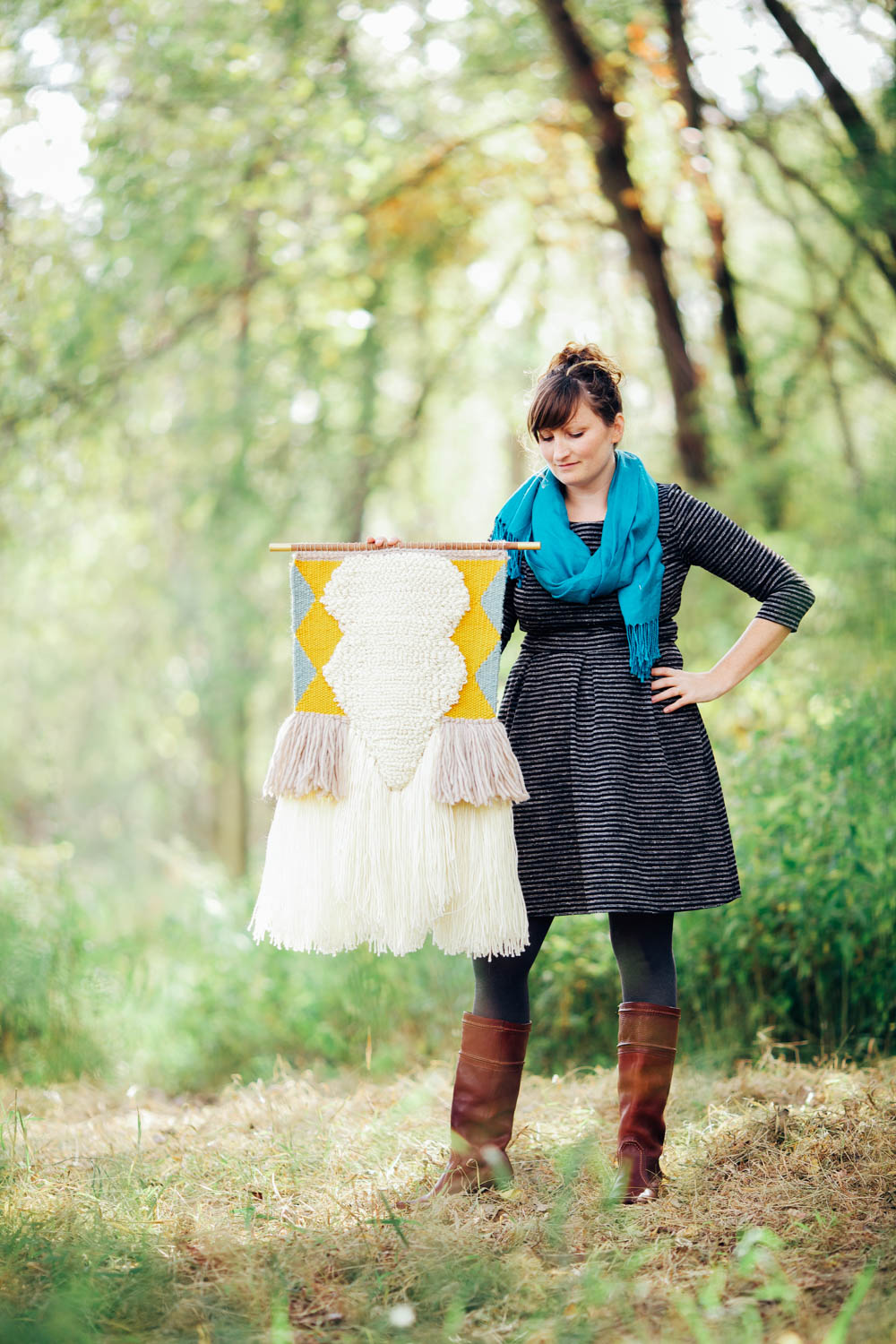 Midwest Maker: Smooth Hills Weaving via The Midwestival