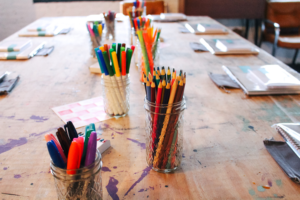 Escape Artists Coloring Books - Grand Rapids weekend with @themidwestival