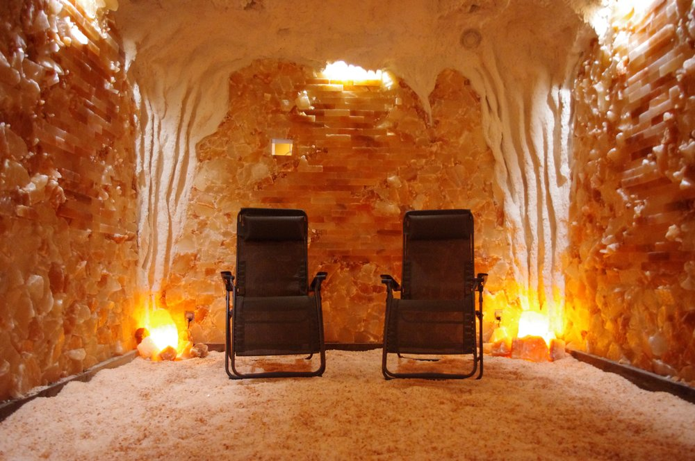 The Salt Cave An Eastern European Tradition Makes Its Way