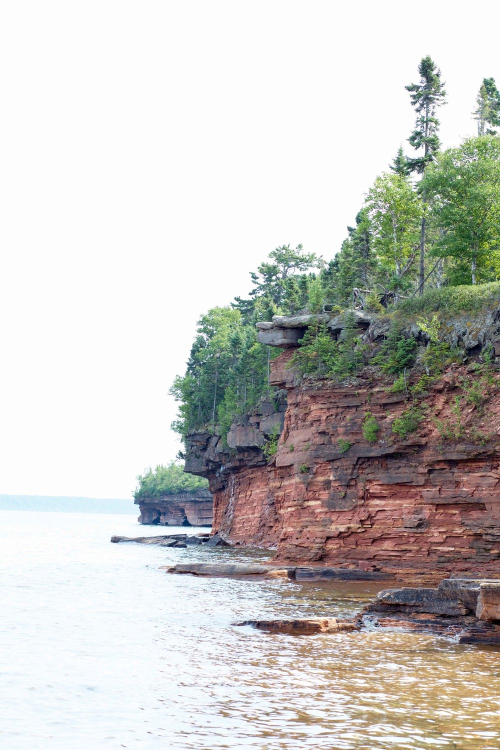 Sailing at Devil's Island - Lake Superior