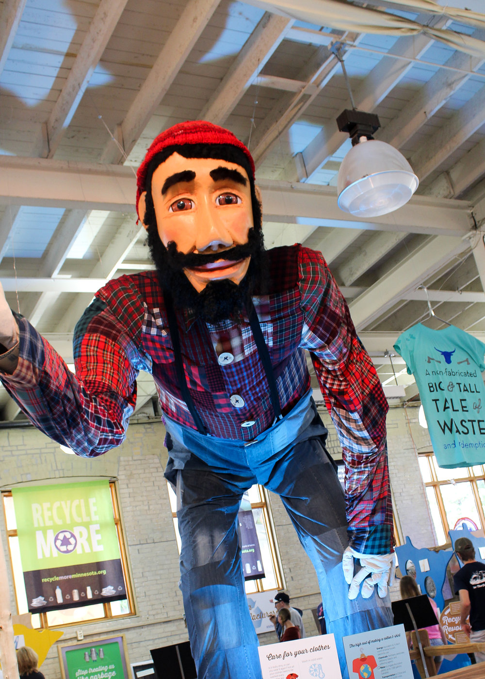 Paul Bunyan at Minnesota State Fair 2016 via The Midwestival
