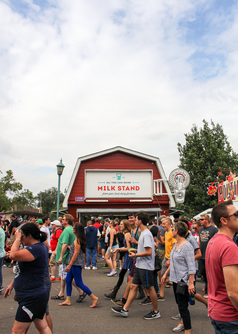 Milk Barn at the Minnesota State Fair 2016 via The Midwestival