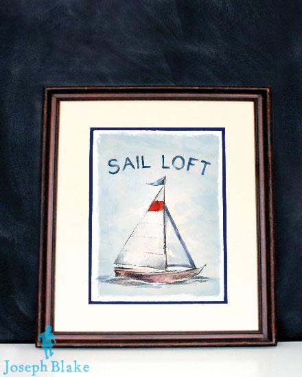 Sail Loft by Joseph Blake (framed)