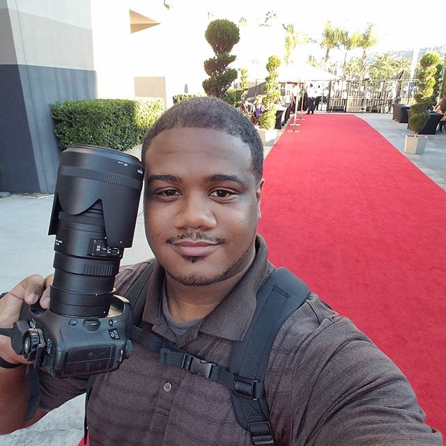 At KIPP star awards 2016 doing my photography thing #kippstar2016