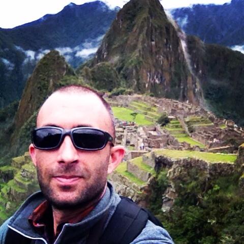 Selfie at Machu Picchu.