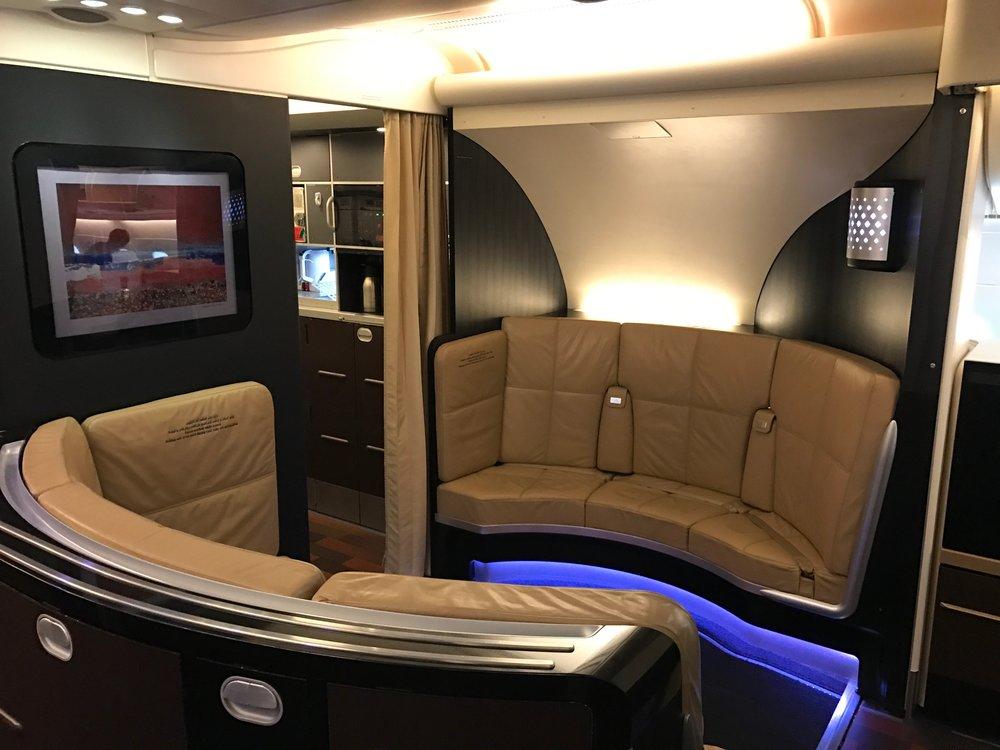 The Lobby on the A380