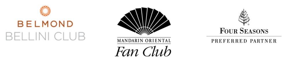 Belmond Bellini Club, Mandarin Oriental Fan Club, Four Seasons Preferred Partner Travel Agency Denise Alevy