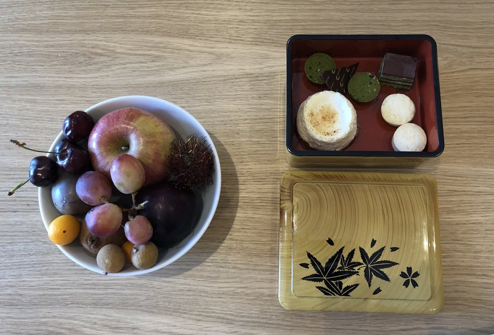 Welcoming Nobu amenities