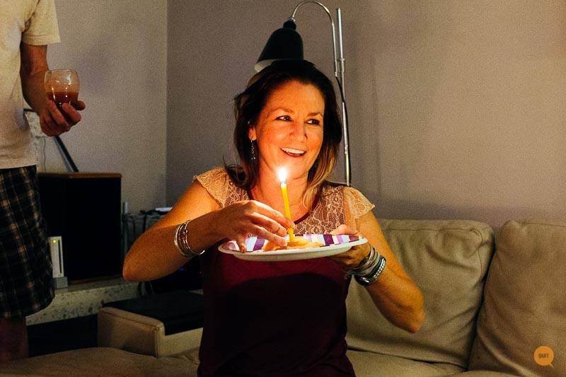 Celebrated Kristy's Birthday
