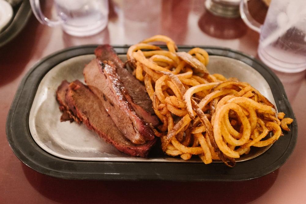 Brisket & Curly Fries