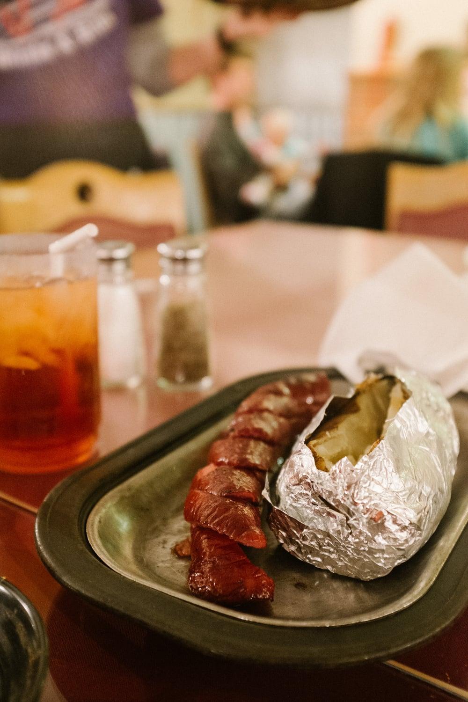 Sausage & Baked Potato