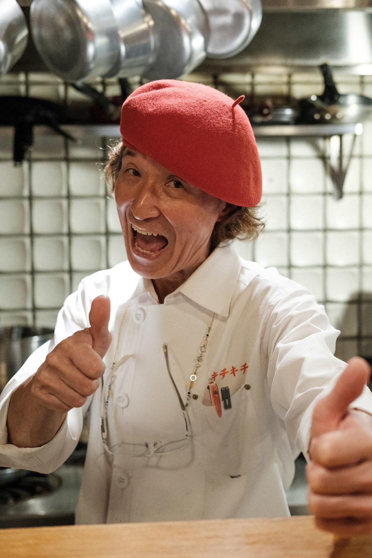 Chef Yukimura Motokichi
