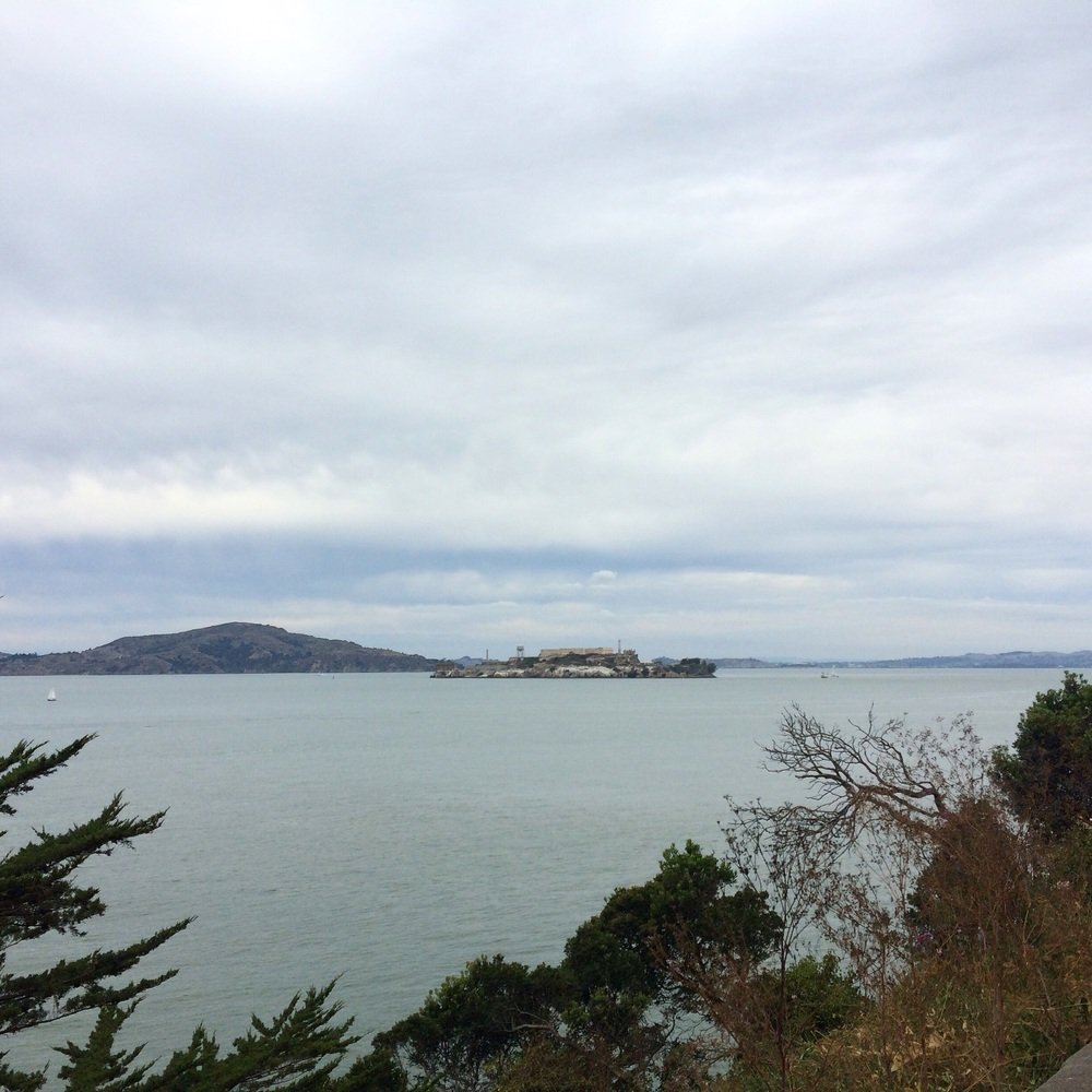 Alcatraz from Fort Mason