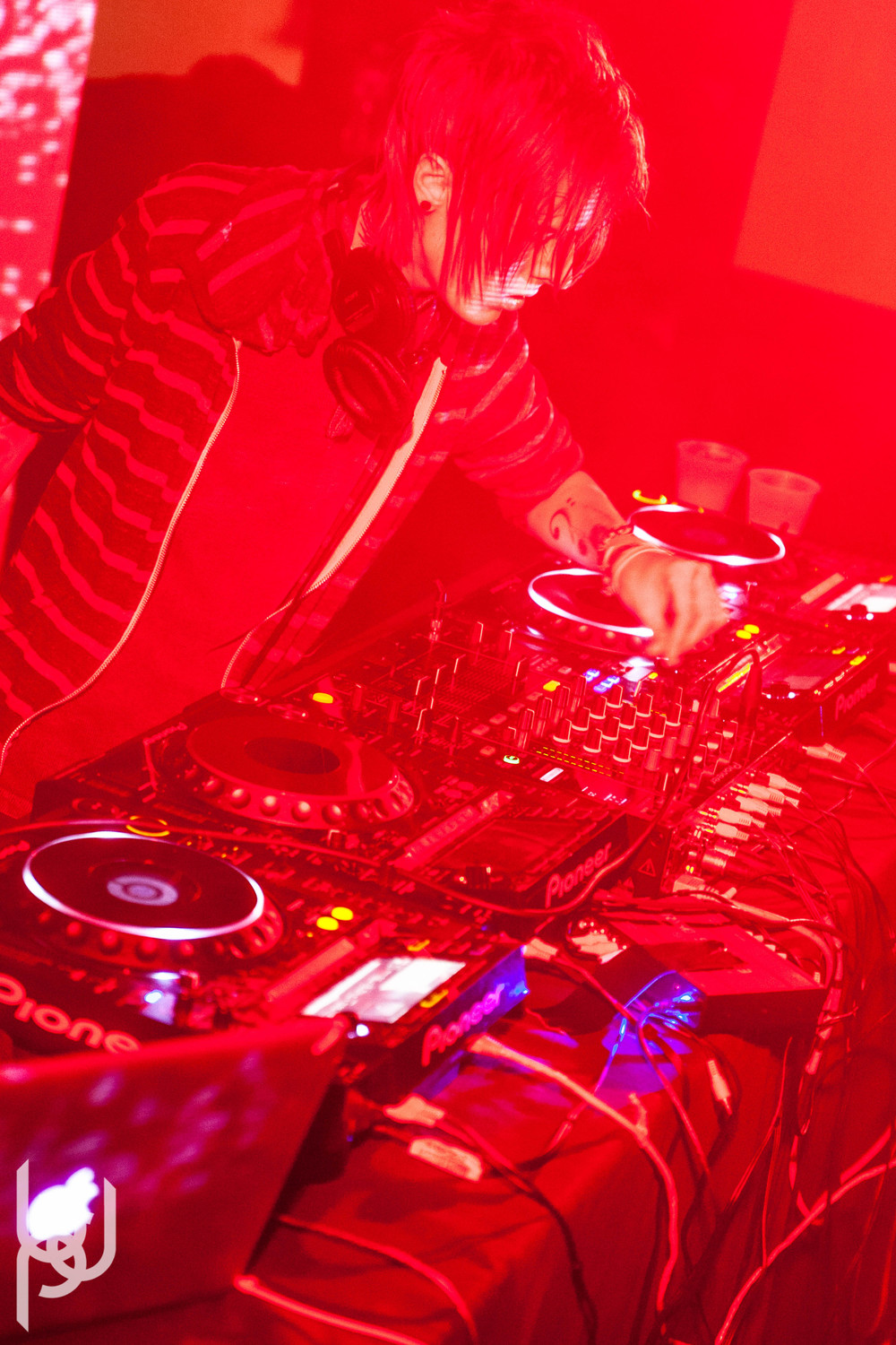 DOWNLINK, DIESELBOY, AJAPAI, MANTIS at The Loft 031414 BDP-6.jpg