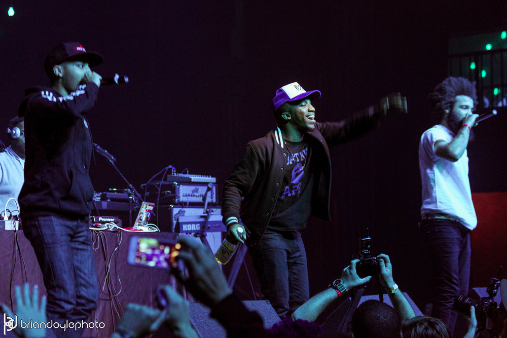 Lil Wayne, Juicy J, Two-9, Tree @ The Fonda 25.11.2014-21.jpg