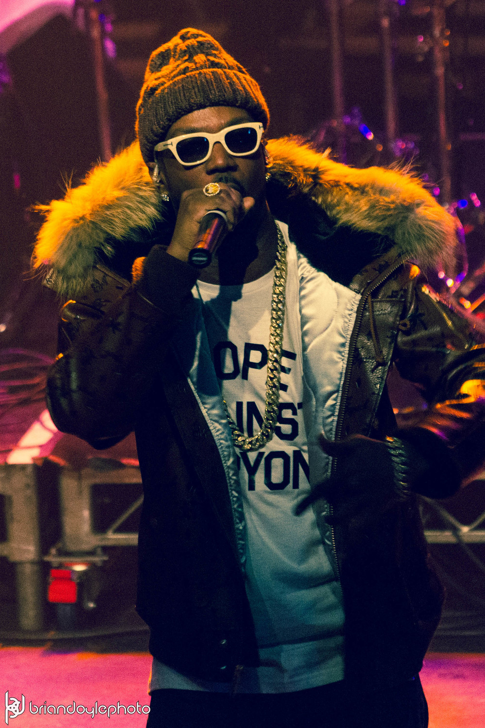 Lil Wayne, Juicy J, Two-9, Tree @ The Fonda 25.11.2014-27.jpg