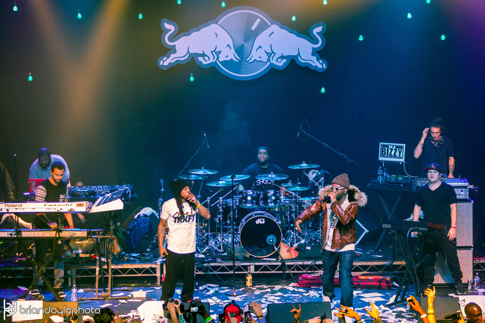 Lil Wayne, Juicy J, Two-9, Tree @ The Fonda 25.11.2014-37.jpg