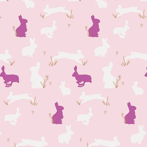 Bunny Binkies Knit in Fluff