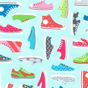 Sneakers in Aqua