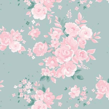 Elizabeth Floral in Mint