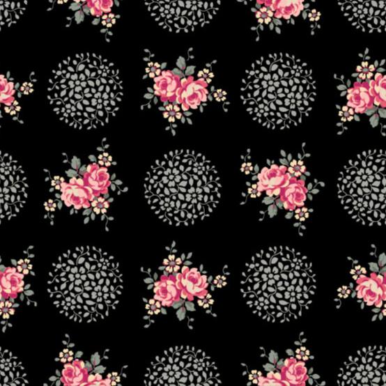Rosette Midnight Rose
