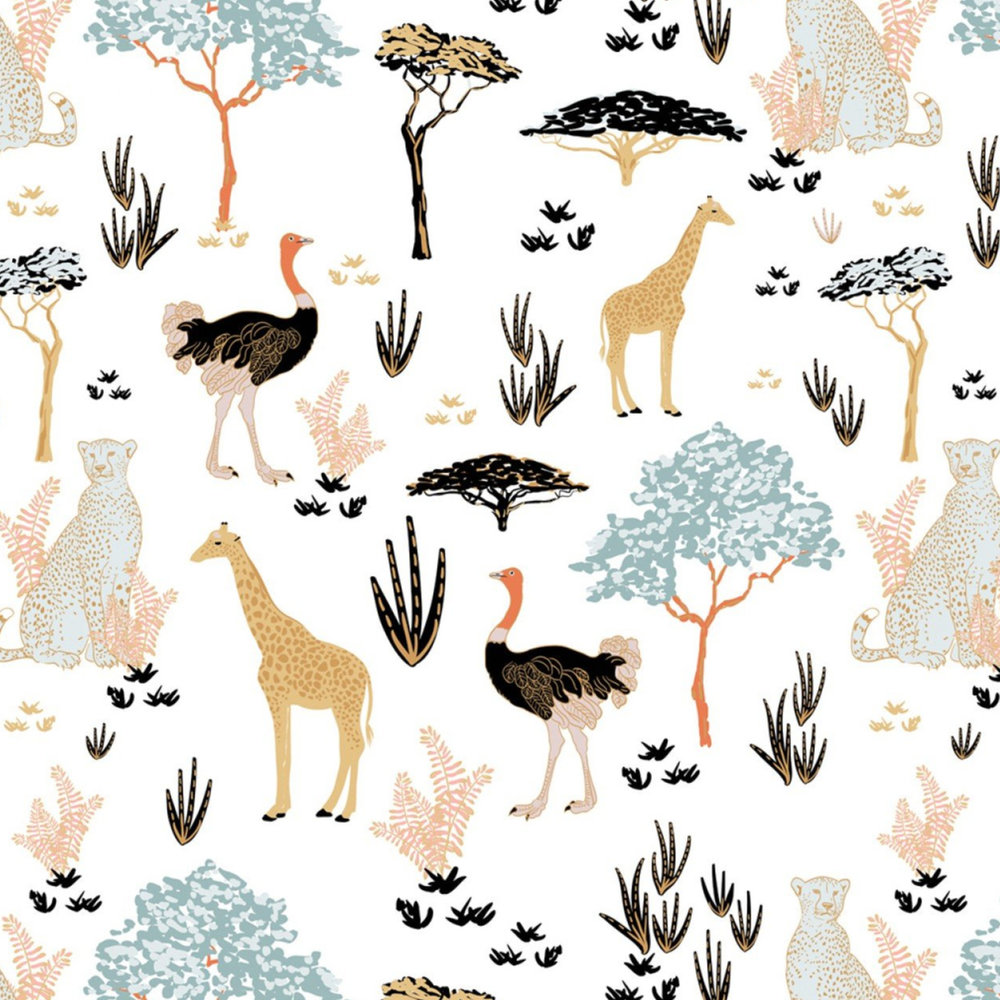 Safari Dreams in White