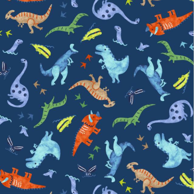 Dinosaurs in Navy
