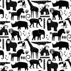Safari in Black and White