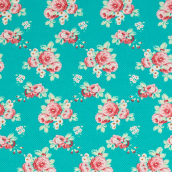 Lil Roses in Teal