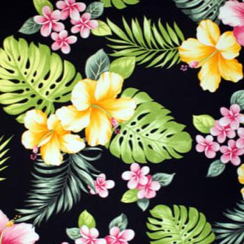 Trans-Pacific Textiles Hawaiian Hibiscus in Black.jpg