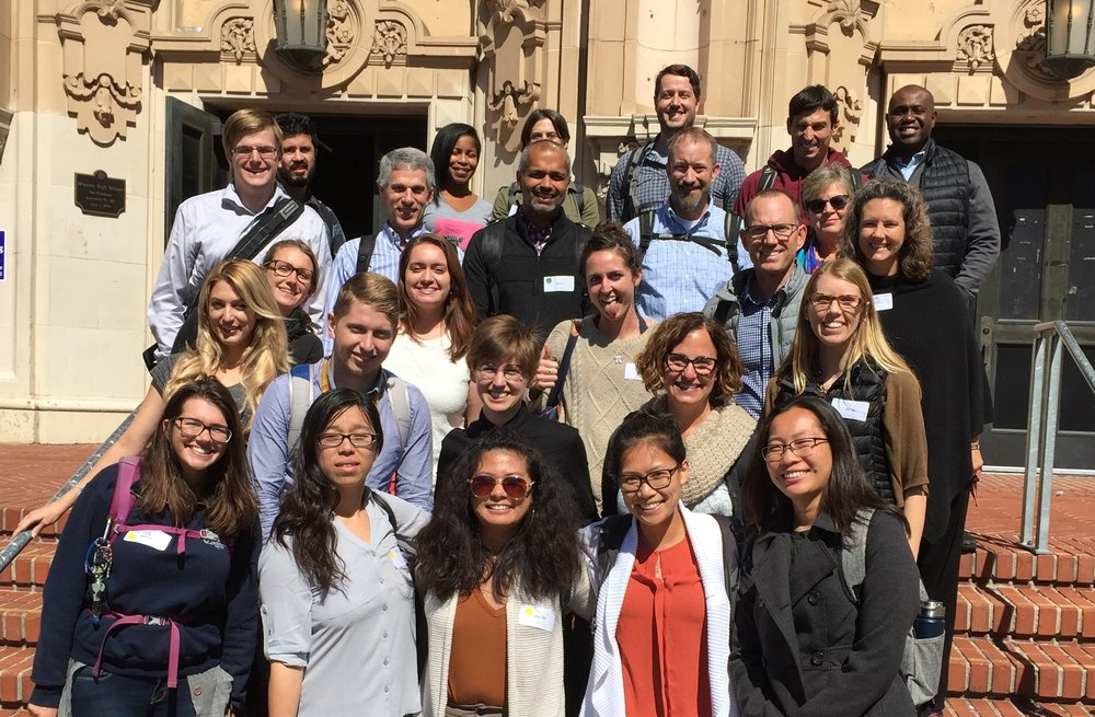 Trellis Teacher Scholars and Mentor Fellows come together at Mission High School in San Francisco for one of several Collaborative Learning Events in which teachers engage in approximations, observations, and debriefs of teaching practice together.