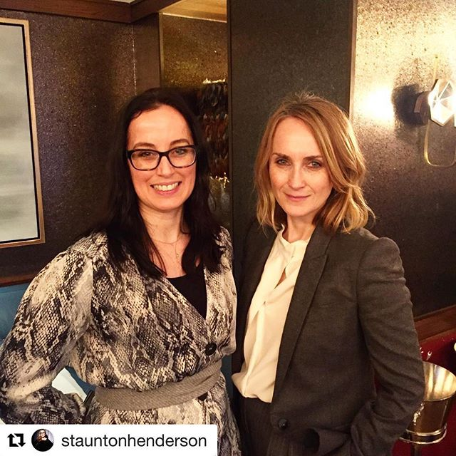 Thanks for coming Trish, lovely to have met you and very inspiring.  Off out to buy @marieclaireuk right now! ☺️ #Repost @stauntonhenderson with @get_repost ・・・ Inspiring talk by @marieclairetrish Editor-in-Chief at Marie Claire Magazine at @winwomenuk #businessbreakfast this morning @corrigans_mayfair. My fav nugget was to use daily reflection and be kind to yourself ✅ 💕💎
