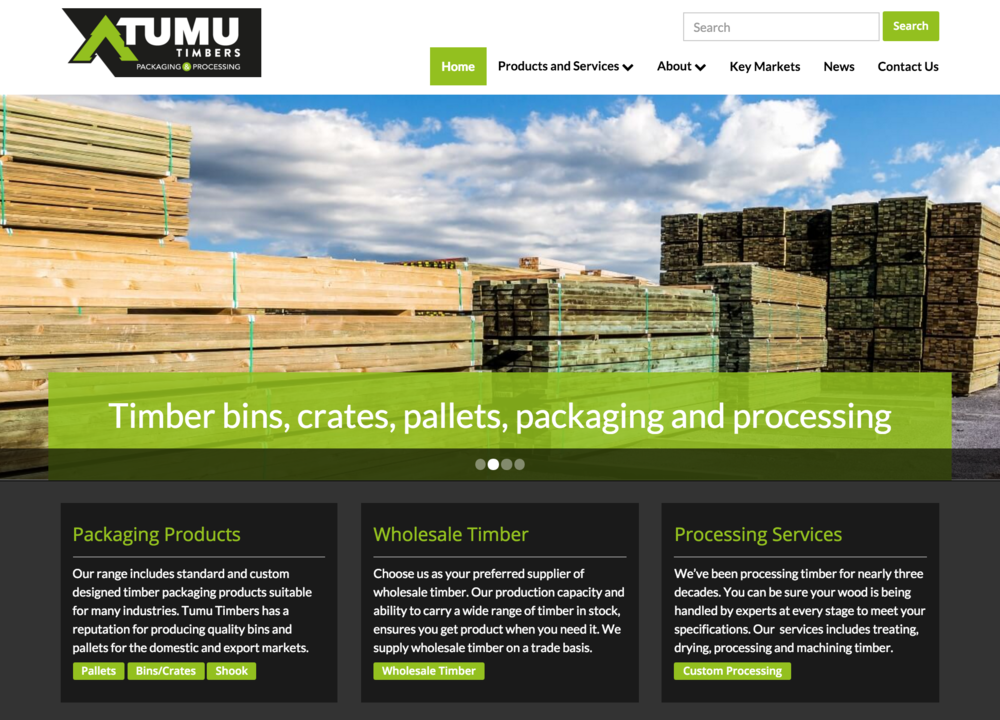 Click to view  Tumu Timbers Website
