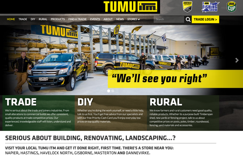 Click to view Tumu ITM Website