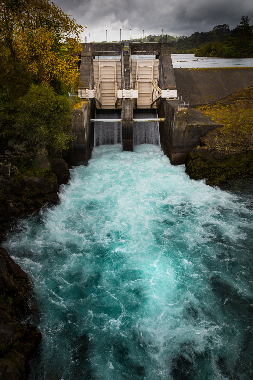 Aratiatia Rapids - Dam Gates