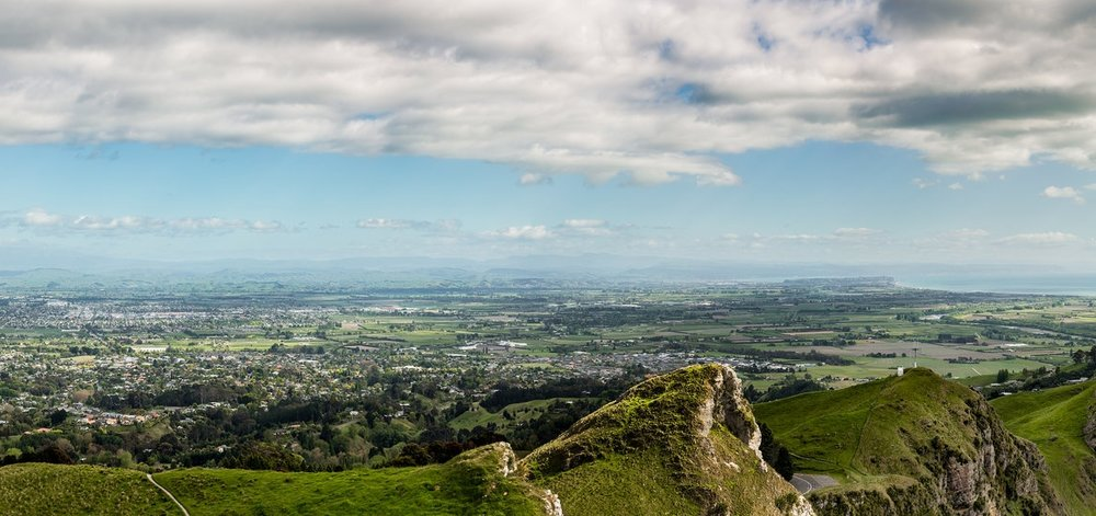 Te Mata Peak Panoramic