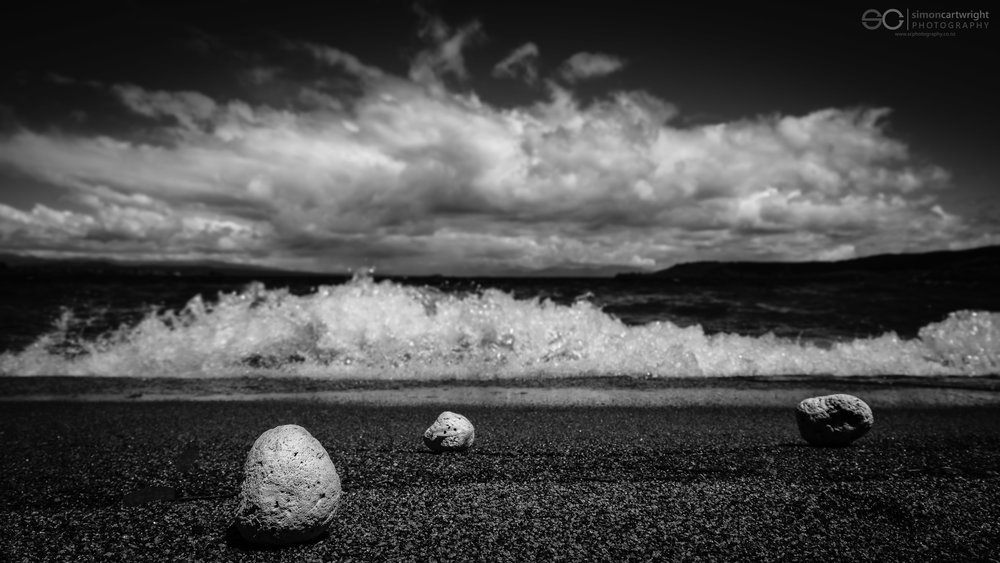No. 2 Pumice stones on the beach at Lake Taupo