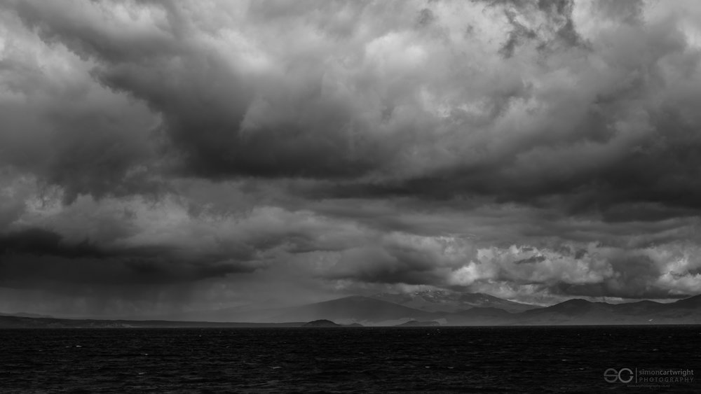 No. 4 Stormy view across Lake Taupo towards 'Mordor'