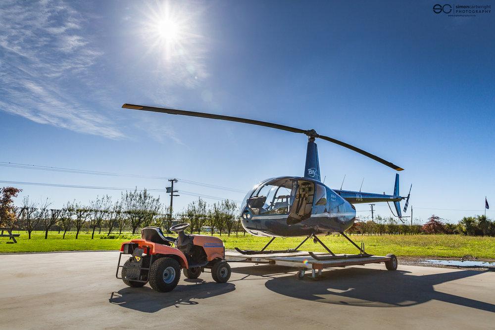 Bay Heliwork's Robinson R44