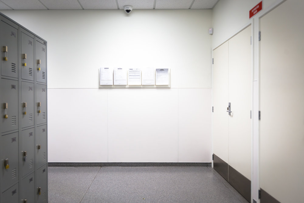Staff Area - Before Installation