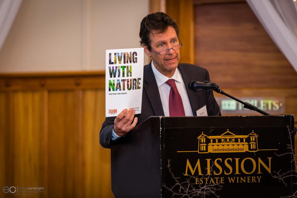 Paul Atkins, CEO of Zealandia (Wellington)