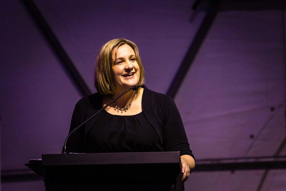 Event MC, Councillor Wendy Schollum