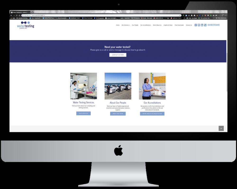 New WTHB website